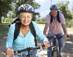 Can cycling improve mental health in old age?