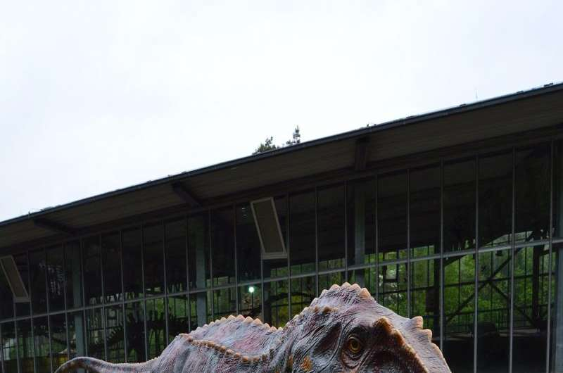 Carnivourous dinosaurs strolled around in Germany