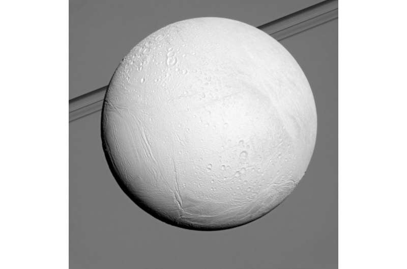Cassini Begins Series of Flybys with Close-up of Saturn Moon Enceladus