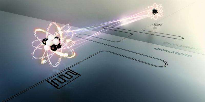 Chalmers researchers extend the lifetime of atoms using a mirror
