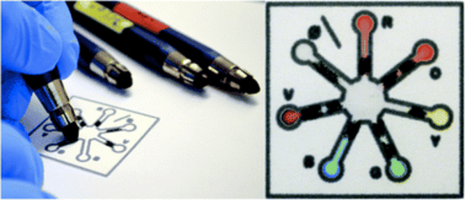 Chemistry set pencils can turn life-saving tests into child's play