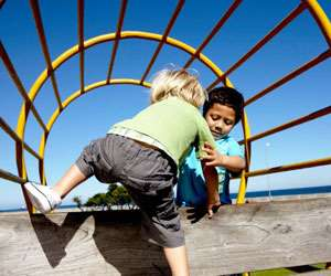 Children less likely to come to the rescue when others are available