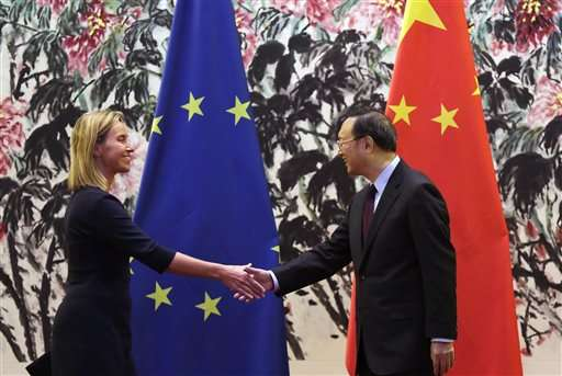 China, EU working on common approach on climate change