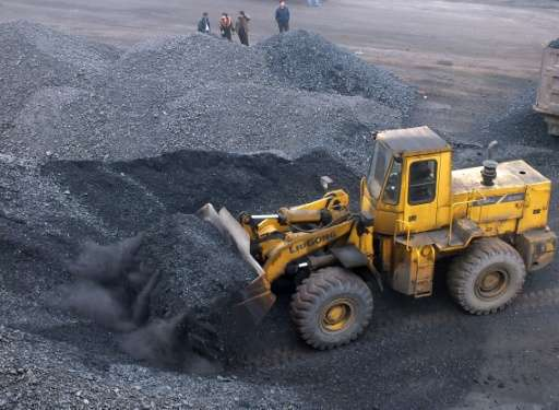 China has raised the figures for coal consumption in previous years by as much as 17 percent - the new figures suggest Chinese e