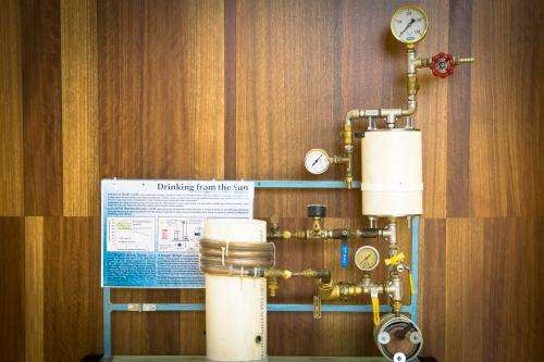 Clean thermal energy for clean fresh water