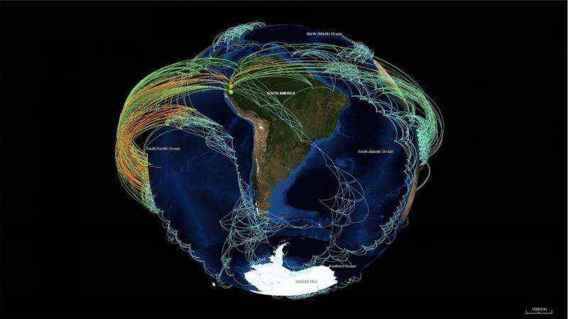 Climate macroscope: Software for finding tipping points and critical network structures