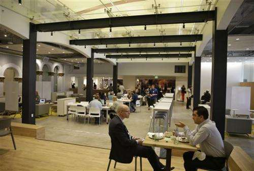 Coffee and code: Software giant opens Silicon Valley cafe