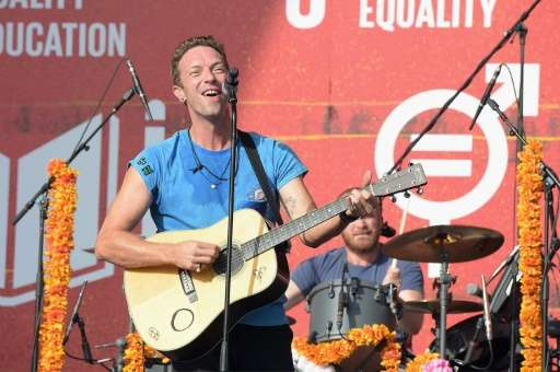 """Coldplay did not offer an explanation but waited four months before the band's last album, """"Ghost Stories,"""" went on st"""