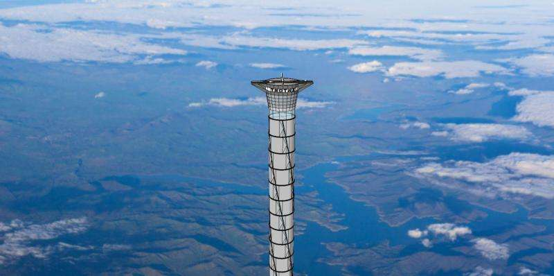 Company in Canada gets U.S. patent for space elevator