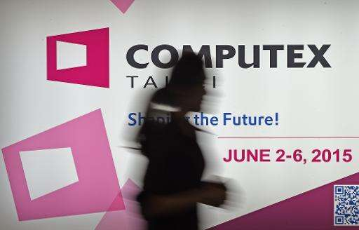 Computex, held in the capital Taipei, is in its 35th year with 1,700 exhibitors spread across three sprawling venues, many of wh