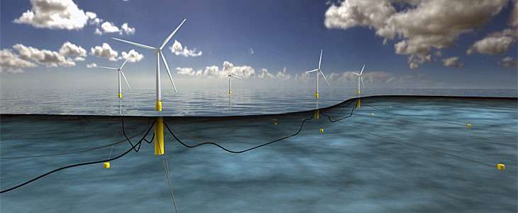 Consent granted to Scotland's floating offshore wind development