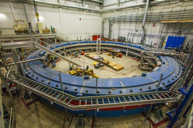 Cooled down and charged up, a giant magnet is ready for its new mission