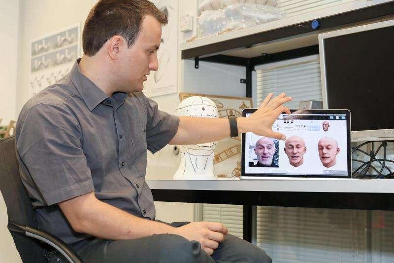 Creating an avatar from a 3D selfie