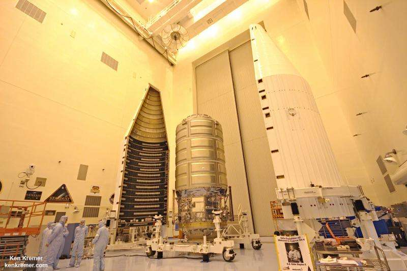 Cygnus freighter fueled and loaded to resume American cargo launches to space station