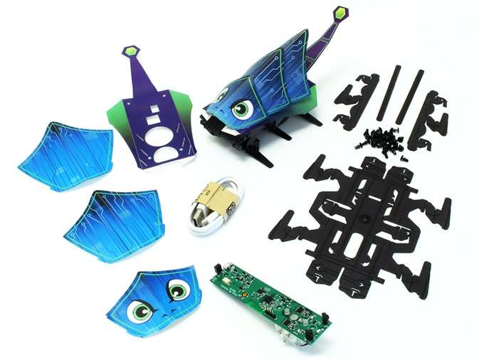 Dash Robotics: Origami-style robots for build-and-play fun