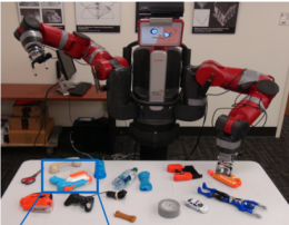 Deep-learning robot shows grasp of different objects