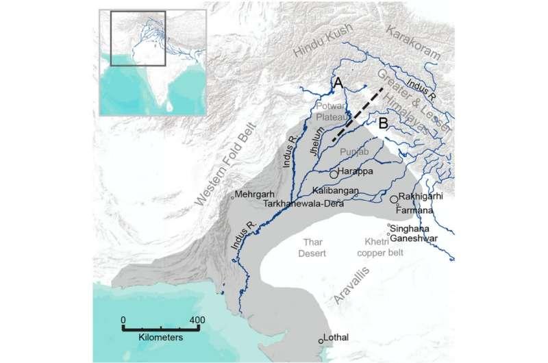 Dental enamel reveals surprising migration patterns in ancient Indus civilizations