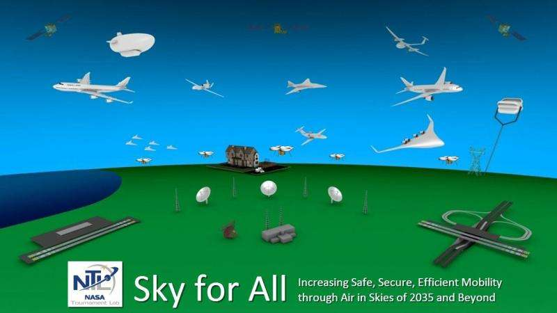 Designing a way to keep increasingly crowded airspace safe