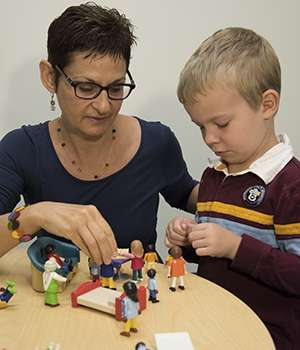 Difficult behavior in young children may point to later problems
