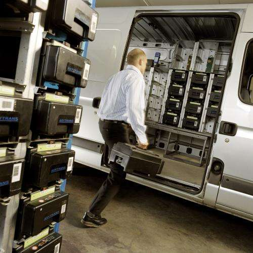 Digitally optimised route planning for security companies