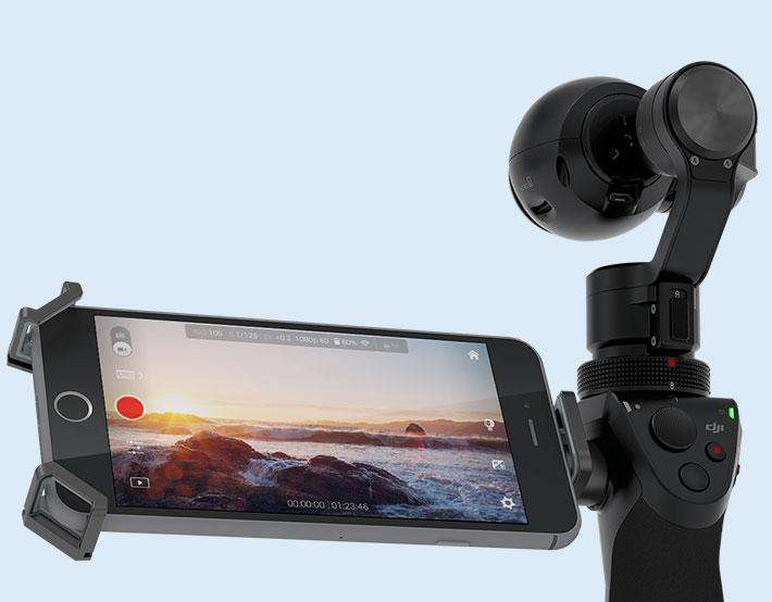 DJI Osmo: Videos, stills without the shakes and blur