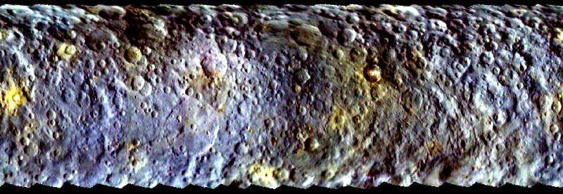 'Dwarf planet' Ceres spawns giant mystery