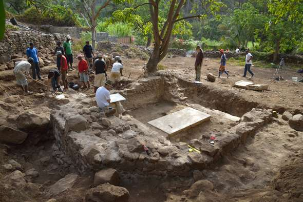 Earliest church in the tropics unearthed in former heart of Atlantic slave trade