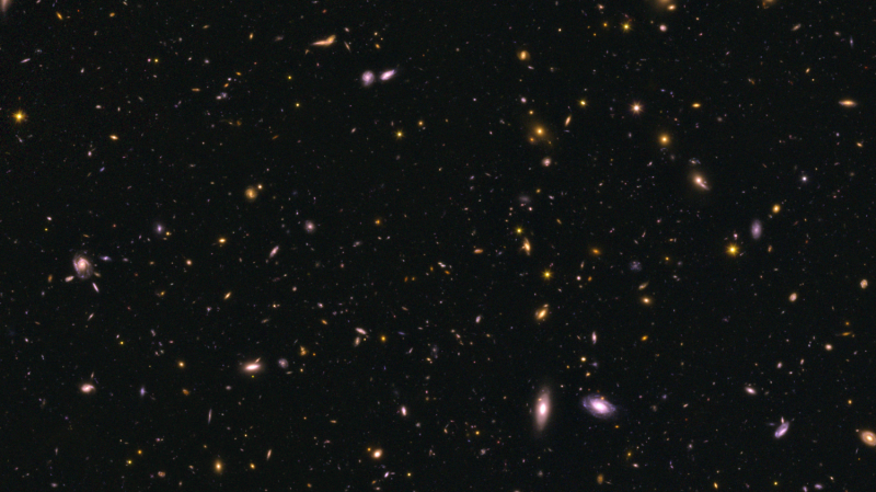 Early galaxies more efficient at making stars, Hubble survey reveals