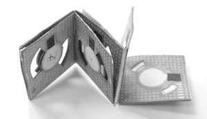 Engineer creates origami battery