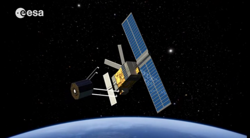 ESA experts assess risk from exploded satellite