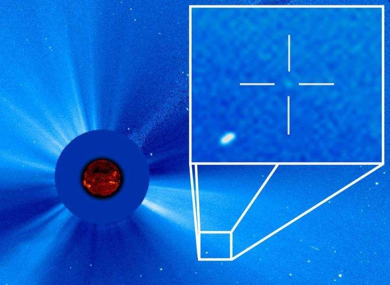 ESA/NASA Solar Observatory discovers its 3,000th comet