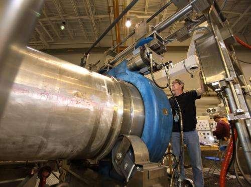 Explosive Destruction System begins first stockpile project