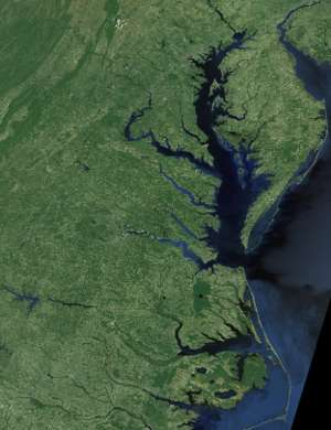Extreme weather events in Chesapeake Bay give clues for future climate impacts