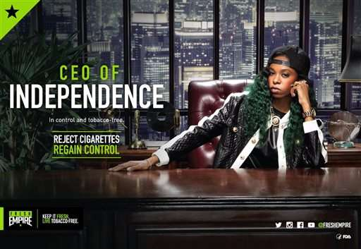 FDA's new anti-smoking campaign uses hip-hop to target youth