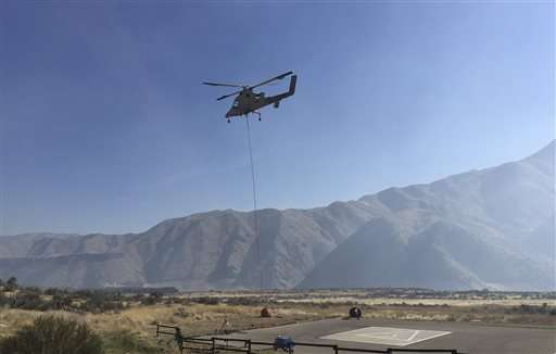 Feds eye pilotless helicopters to battle wildfires