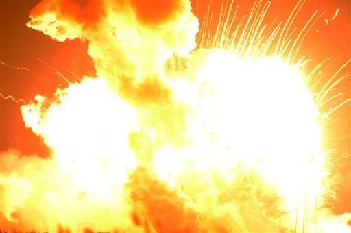 Fire in engine doomed Orbital rocket on space station flight
