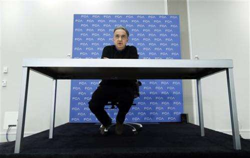 Five questions for Fiat Chrysler CEO Sergio Marchionne