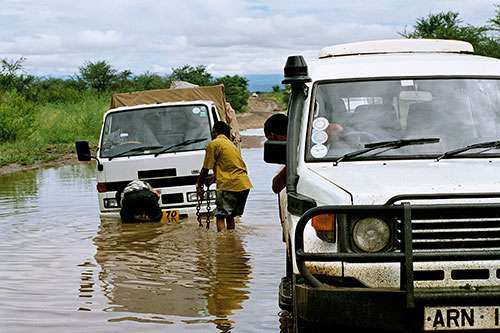 Flood hazard model helps the developing world