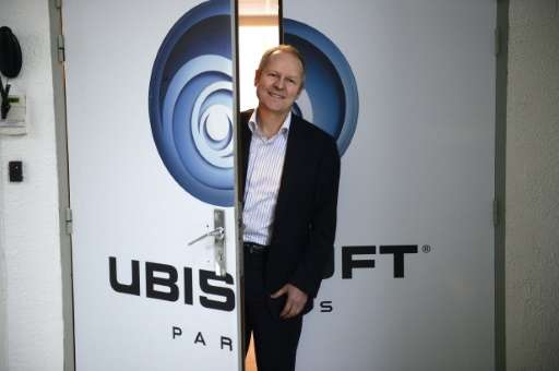 French media giant Vivendi has taken a majority stake in game maker Ubisoft, co-founded by Yves Guillemot, pictured December 13,