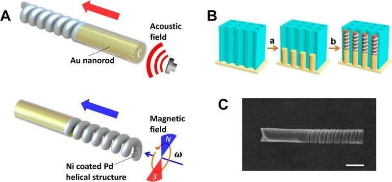 fuelfree nanomotor