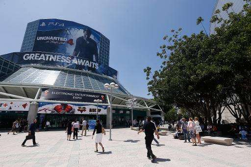 Game enthusiasts and industry personnel arrive to the Annual Gaming Industry Conference E3 at the Los Angeles Convention Center,