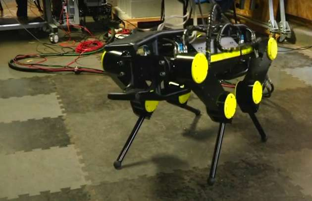 Genoa lab makes sure robot can stand up to hard knocks