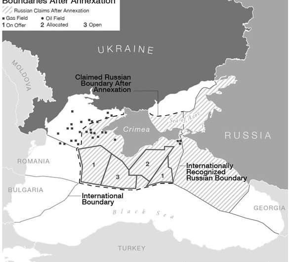 Geographers study link between Russia's western military action, eastern gas deal