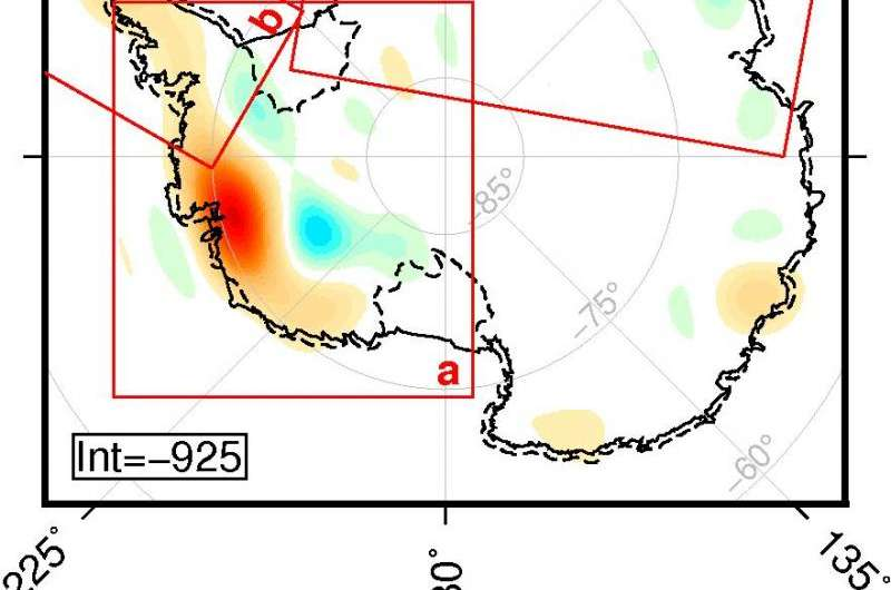 Gravity data show that Antarctic ice sheet is melting increasingly faster