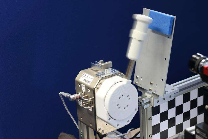Handshake from space with ESA's Haptics-2 experiment