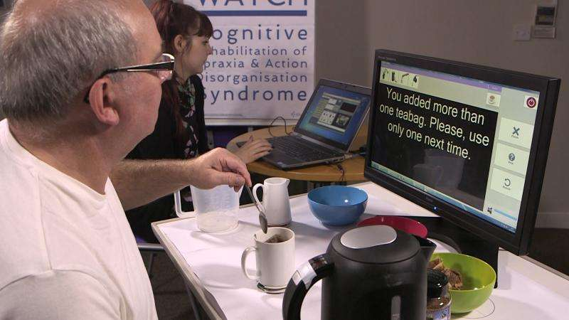 Helping stroke patients to regain their independence