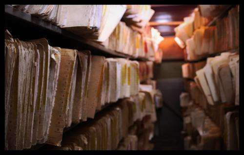 How one of the world's largest archives is managing the move from parchment to pixels