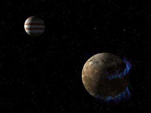 Hubble Observations Suggest Underground Ocean on Jupiter's Largest Moon