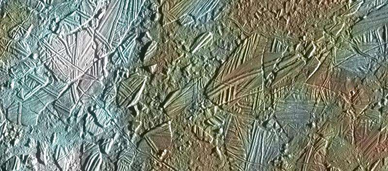 Image: Chaos on watery Europa