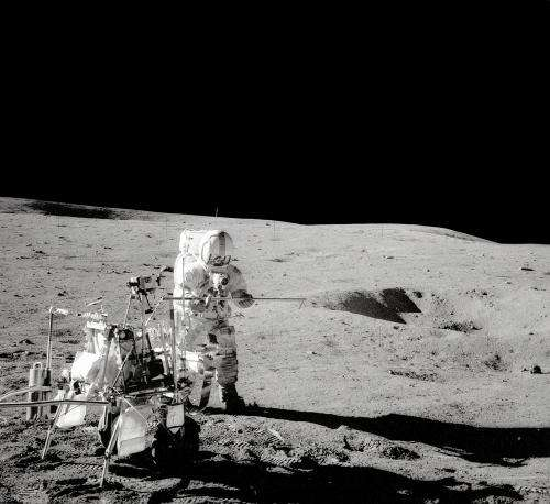 Image: Forty-four years ago today, Apollo 14 touched down on the moon